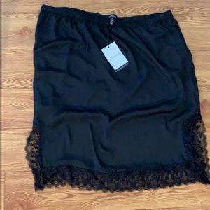 Dresses & Skirts - Black unused unworn plus size skirt